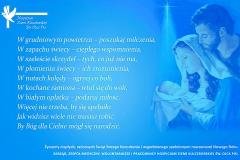 Życzenia świąteczna Hospicjum Ziemi Kluczborskiej św. Ojca Pio