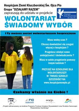 Wolontariat - świadomy wybór