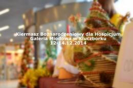 Kiermasz Bożonarodzeniowy dla naszego Hospicjum. A tak to właśnie było ....