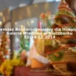 Kiermasz Bożonarodzeniowy dla naszego Hospicjum. A tak to właśnie było ….