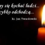 Wieczny odpoczynek racz wszystkim naszym zmarłym Pacjentom dać Panie…