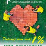 Twój 1% ma niezwykłą moc. Podziel się nią z nami i pomóż zbudować hospicjum stacjonarne.