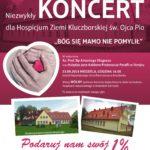 Koncert Biskupa Antoniego Długosza oraz Księdza Jana Kałdona dla Hospicjum