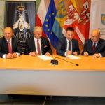 Podpisanie umowy o dofinansowanie budowy hospicjum stacjonarnego w Smardach